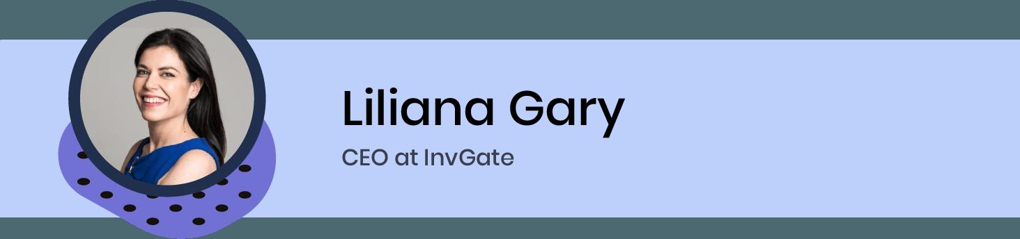 Liliana Gary, CEO at InvGate